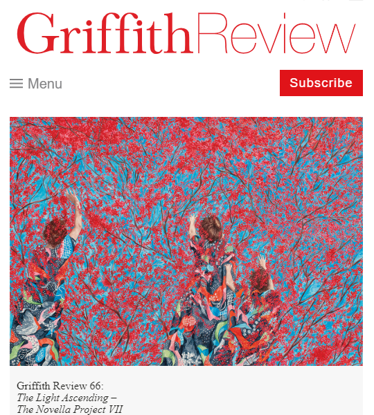 "CFP Griffith Review 69: ""The European Exchange"""