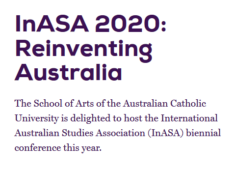 CFP: InASA 2020 Biennial Conference (new dates: 8-10 Feb 2021)